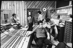 "Bruce Springsteen ""Studio"" Bruce and the E Street band recording the River album Photographer: David Gahr"