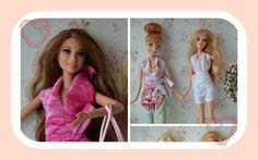 Como fazer macaquinho roupinhas para boneca Barbie
