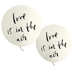 kate spade new york bridal balloon set - love is in the air
