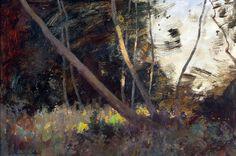 The Leaning Ash - Norfolk. Edward Seago