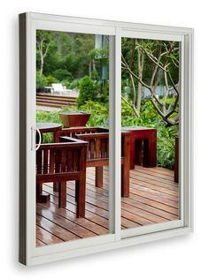 patio doors sunrise window