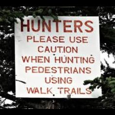 Hunting pedestrians... LOL punctuation's important!