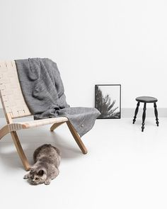 The Cuba Chair from Carl Hansen & Søn - styled by @aprilandmay - photographed by @beeldsteil