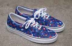 VANS Liberty Era - floral/checker