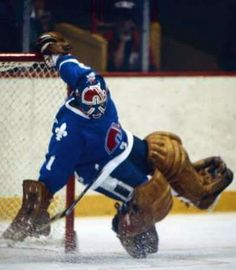 Garrett between the pipes for the Nordiques. Hockey Goalie, Hockey Games, Ice Hockey, Hockey Sport, Nhl, Field Goal Kicker, Quebec Nordiques, Cool Photos, My Photos