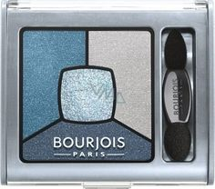 Fard Bourjois Smoky Stories Quad Palette - 03 I Love Blue