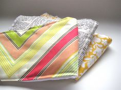 burp cloths tutorial