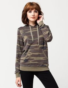 OTHERS FOLLOW Camo Womens Hoodie 279669946 | Sweatshirts & Hoodies