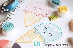 DIY vraiment très simple à réaliser :  comment faire tes propres tampons encreurs sans gomme, ni gouge, ni bac+5 option sérigraphie !