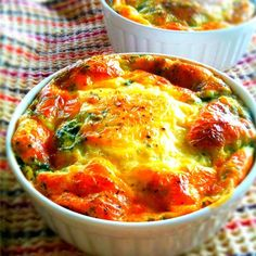 """Quick Quiche I """"Great recipe - great without the bother of carbs or making a crust."""" """