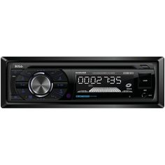 BOSS AUDIO 508UAB Single-DIN In-Dash MP3-Compatible AM/FM/CD Receiver (with Bluetooth(R))