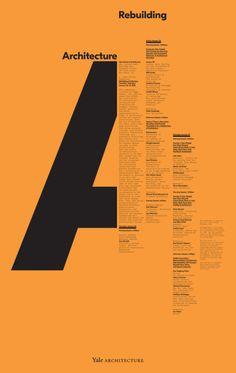 Michael Bierut, Pentagram-Partner und Senior-Kritiker an der Yale School of Art - Grafik Design Graphisches Design, Game Design, Book Design, Mises En Page Design Graphique, Art Graphique, Graphic Design Posters, Graphic Design Typography, Grid Graphic Design, Creative Typography