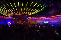 Interior Nightclub Design | Custom LED Lighting Design | Custom Nightclub | Envy Nightlife, by I-5 Design and Manufacture by I-5 Design & Manufacture, via Flickr