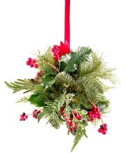 Another Christmas Tradition is kisisng under the Mistletoe. So have fun this Christmas and find someone to kiss. The problem in hotter climates is to find the Mistletoe, of course. Darn!  Su…