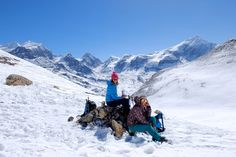 Taking a break - Annapurna Circuit Trek - Notes from the Hike