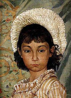 osman hamdi bey, çekik gözlü kız, türk ressamlar, portre resimleri, portre nedir, portre tablolar, resim, ressam, tablo, otoportre