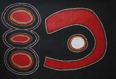 Gulun Duen Springs by Jack Dale Mengenen Aboriginal Art For Sale, Aboriginal Symbols, Aboriginal Painting, Aboriginal Artists, Dot Painting, Artist Painting, Encaustic Painting, Haida Art, Australian Art