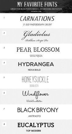 Great fonts make great stamps! Here some of our favourite free fonts available.