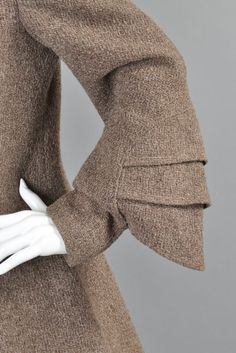 Art Deco Fin рукава Fox воротник пальто | 1stdibs.com