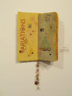 Elaine Golt Gongora, who's work we have featured previously on our FB page, has created an amazing book that is currently in the Book Arts Roundtable show ... and it's ALL Gelli prints!!! www.facebook.com/GelliArts