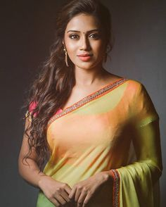 """Tollywood hottie Miss India-UAE Nivetha Pethuraj hot actress debut with Tamil movie""""Oru Naal Koothu"""".Film's director Nelson, her Tamil speaking ability and good looks landed her this role. Nivetha won the title earlier this year. Beautiful Girl Indian, Beautiful Saree, Beautiful Indian Actress, Beautiful Actresses, Beautiful Women, Beautiful Gorgeous, Simply Beautiful, Hot Actresses, Indian Actresses"""