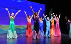 The last three performances of the Little Mermaid, Jr.will take place this weekend at Adventure Theatre . The Little Mermaid, Jr.is premiere student production of the Season. The production showcases the talents of its musical theater academy. The Little Mermaid 2017, The Little Mermaid Musical, Little Mermaid Characters, Little Mermaid Costumes, Sea Costume, Fish Costume, Mermaid Song, Mermaid Kids, Mermaid Costume Makeup
