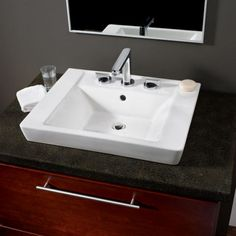 Boulevard Above Countertop Sink - American Standard Bathroom Sinks