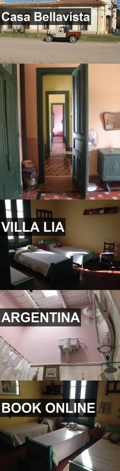 Hotel Casa Bellavista in Villa Lia, Argentina. For more information, photos, reviews and best prices please follow the link. #Argentina #VillaLia #travel #vacation #hotel