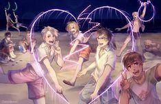 Yuri on Ice Anime Manga, Anime Guys, Manhwa, Tous Les Anime, Yuri On Ice Comic, Victor Nikiforov, Yuuri Katsuki, Ice Art, ユーリ!!! On Ice