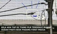 seventh feet creative partner: Mau Pasang FIRST MEDIA CONTOH TAP FIRST MEDIA YG A...