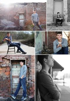 Guys senior picture pose ideas