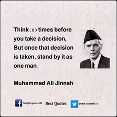 failure is a word unknown to me muhammad ali jinnah  muhammad ali jinnah s quote
