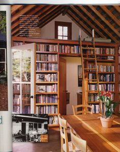 Source: iVillage  Ever feel like you just don't have space in your house for a library? You aren't alone. Some clever homeowners have created charming reading spaces in garden sheds. sp…