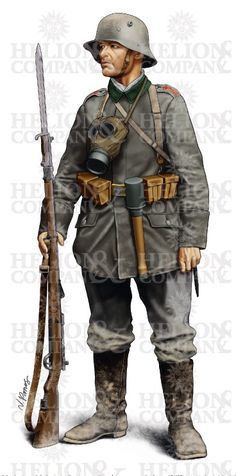 MUSKETIER OF INFANTERIE-REGIMENT GROSSHERZOG VON SACHSEN (5. THÜRINGISCHES) NR. 94 AS EQUIPPED ON 2 DECEMBER 1917, PASSCHENDAELE (Limited Edition Art Print)