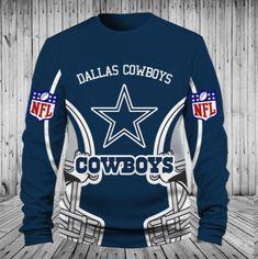 091ae26d5c0 Low Price NFL Football Dallas Cowboys 3D Hoodie With Zipper Sweatshirt  Jacket Pullover