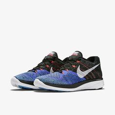 best service a9063 a188c Nike Flyknit Lunar 3 Black Violet
