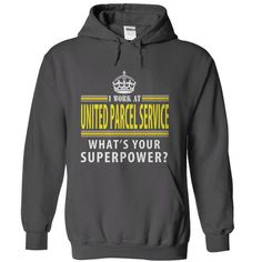 United Parcel Service - #lace tee #cool sweater. FASTER => https://www.sunfrog.com/Geek-Tech/United-Parcel-Service-Charcoal-15927249-Hoodie.html?68278