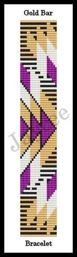 Simply gorgeous, this bracelet is done on a loom, or you can use square stitch. You must know how to use the loom or do square stitch, there are no stitch or cl