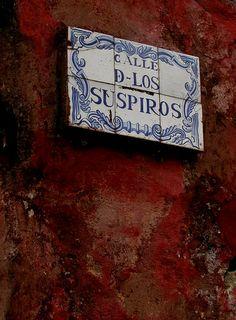 Callle de los Suspiros, Colonia del Sacramento Uruguay