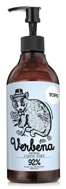 Yope Tekuté koupelnové mýdlo - verbena (500 ml)