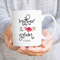 wedding gifts, mother of the groom gift, wedding gifts for parents, mother in law gifts, gifts from bride, unique gifts, coffee mugs MU460 by artRuss on Etsy