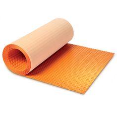 Schluter Systems 39-in x 493-in Orange Underfloor Heating Mat