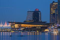Vancouver Convention Centre Expansion, Vancouver, BC. Architect: LMN Architects, MCM Partnership (Photo: Darrell Lecorre)