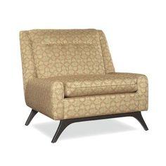 BKind3 by Lazar Dickens Slipper Chair Fabric: Z-Espresso, Fabric: Gr 12/ Aura Pearl