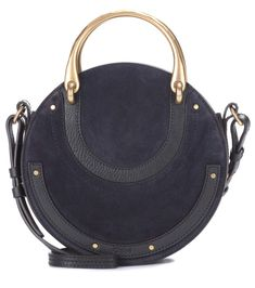 Chloé - Pixie Small leather and suede shoulder bag   mytheresa.com