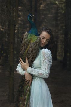 Katerina Plotnikova (would be interesting to switch it up into Greek mythology -- if the peacock is Hera, then...?)