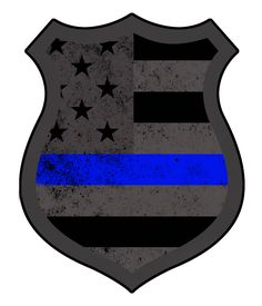 358ad6baffe Subdued American Police Decal