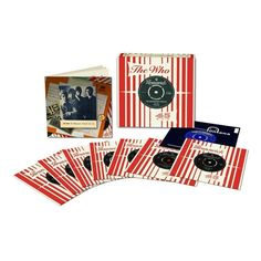 """The Who - The Brunswick Singles 1965-1966 on Limited Edition 8 x 7"""" Vinyl Box Set.If you want to customize a good-looking vinyl and vinyl packaging, visit www.unifiedmanufacturing.com."""