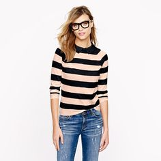 Sooooo in love with this Peter Pan merino sweater by J.Crew.