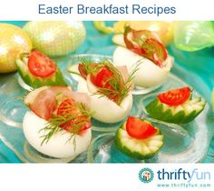 On Easter morning breakfast can be a festive and fun. This page contains Easter breakfast recipes.